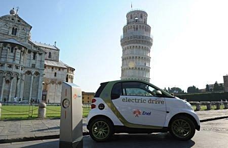 Mobilità sostenibile e elettrica a Pisa